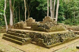 ruínas maias de copan em honduras foto