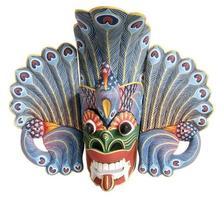 lembrança de máscara tradicional indonésia (balinesa)