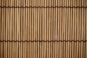 a textura e o padrão de fundo de esteira japonesa foto
