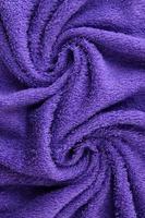 textura de toalha de perto foto