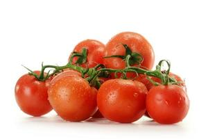 tomates isolados no branco