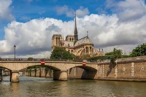 Catedral de Notre Dame de Paris. foto