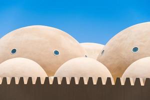 telhado da mesquita foto