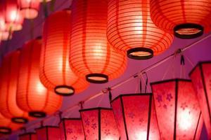 lanternas internacionais coloridas