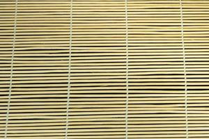 cortina de bambu. foto
