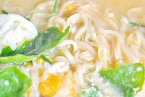 sopa de macarrão foto