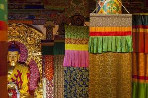 mosteiro tagong em sichuan, china. foto