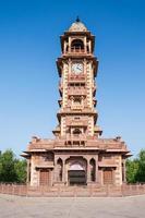 torre do relógio, jodhpur foto