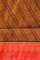 padrão de motivo de seda tailandesa