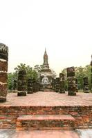 parque histórico de sukhothai a cidade velha da Tailândia