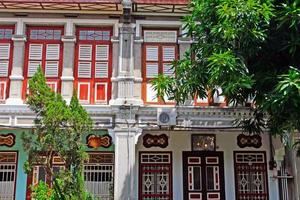 local da herança mundial da unesco da cidade de george, penang, malásia foto
