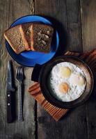 ovos mexidos foto