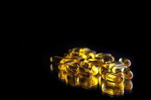 comprimidos de óleo de fígado de tubarão foto