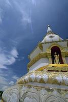 roi da Tailândia e templo