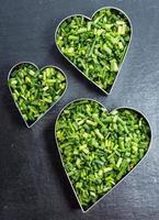 eu amo ervas (cebolinha) foto
