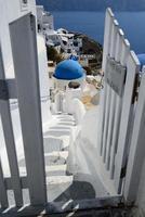 grecja santorini, oia foto