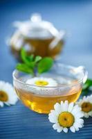 chá de camomila foto