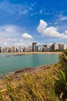 praia vitoria, espirito santo, brasil foto