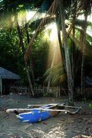praia de dauin, filipinas foto
