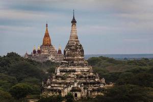 templos de Bagan. Mianmar. foto