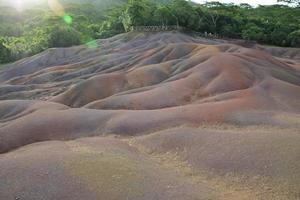 chamarel terre de 7 couleurs, mauritius foto