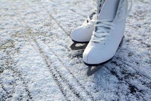 patins no gelo foto