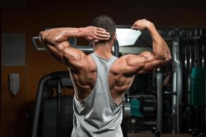 bíceps perfeito foto