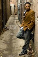 homem afro-americano foto