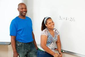 educação em tronco - afro-americana foto