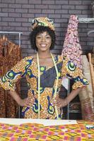 retrato de uma mulher afro-americana foto