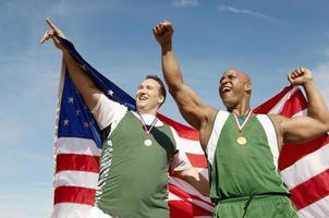 vencedores de atletismo