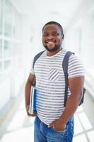 estudante afro-americano foto