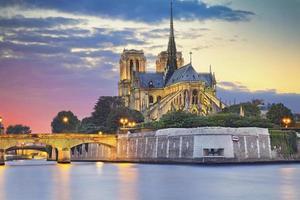 Catedral de Notre Dame, Paris. foto