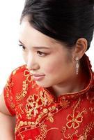 retrato de beleza asiática