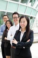 executivo de negócios asiáticos foto