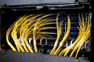 cabos de rede foto