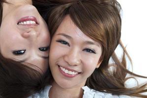 asiáticos bonitos foto