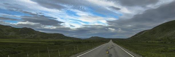 strada norvegese foto