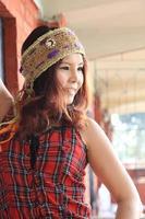 Mulher asiática foto