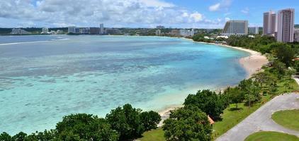 Baía de tumores, Guam