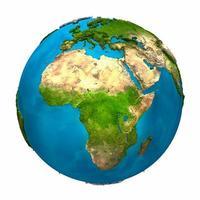 planeta terra - áfrica foto