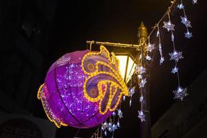 decoração de rua asiática foto