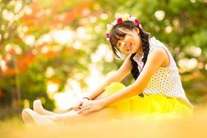 adolescente asiática foto