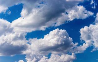nuvens foto