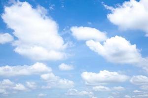 nuvens. foto