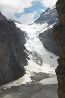 paisagem canadense na planície de seis geleiras. Alberta. Canadá foto