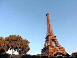 paris- torre eiffel foto