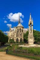 catedral de notre dame de paris foto