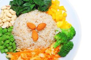 pratos asiáticos foto