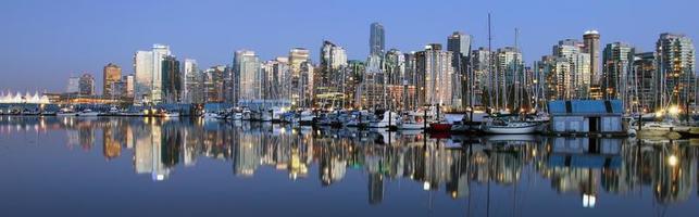 Vancouver no centro foto